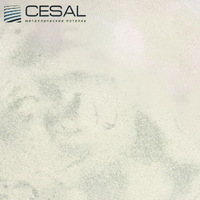Металлический кассетный потолок с кассетой 300х300мм Cesal 503 Бежевый мрамор