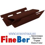 Внутренний угол FineBer Могано, Коричневый (длина-3,05м)