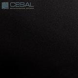 Металлический кассетный потолок с кассетой 300х300мм Cesal А03 Чёрный жемчуг