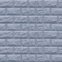 """Фасадная панель Доломит """"Альпийский"""" Серо-голубой (3000х220мм)"""