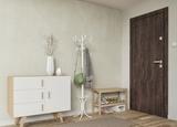 Панель ПВХ Vilo Motivo - Ascot Grey / Аскот серый 2,65х0,25м (матовая)