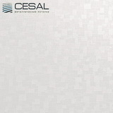Металлический кассетный потолок с кассетой 300х300мм Cesal B28 Мозайка кремовая