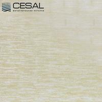 Металлический кассетный потолок с кассетой 300х300мм Cesal B318 Золотистый штрих