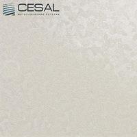 Металлический кассетный потолок с кассетой 300х300мм Cesal В31 Шампань бьянко