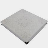 Металлический кассетный потолок с кассетой 300х300мм Cesal B39 Жасмин