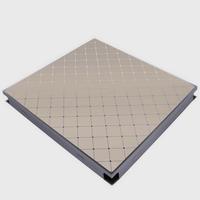 Металлический кассетный потолок с кассетой 300х300мм Cesal B40 Винтаж