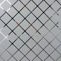 Металлический кассетный потолок с кассетой 300х300мм Cesal B44 Комби лен