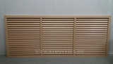 Решетка радиаторная ПВХ 1500х600мм Бежевая