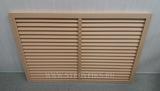 Решетка радиаторная ПВХ 900х600мм Бежевая