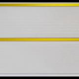 Панель ПВХ 3х0,25м Белая золото 2-х секционная