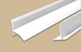 Бордюр на ванну ПВХ Идеал Белый Матовый с мягкими краями (длина-2м)