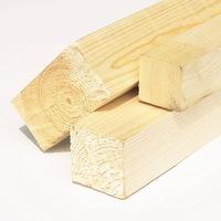 Деревянный брус 50x50 мм сухой строганый (длина-3м)