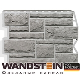 Фасадная панель Holzplast Wandstein Бут Серый жемчуг (795х595мм)