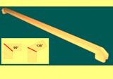 Соединитель ПВХ на стык 90° и 135° Цветной-10цветов 70см (700мм) к подоконнику Danke