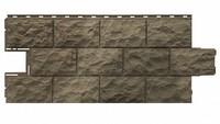 Фасадная панель Фасайдинг Дачный (Fineber) Доломит Дымчатый (1080х452мм)