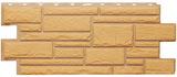 Цокольный сайдинг т-сайдинг дикий камень бежевый 1011 техоснастка