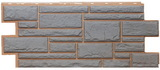 Цокольный сайдинг т-сайдинг дикий камень серый 7037 техоснастка