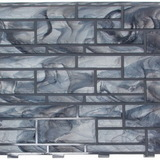 """Фасадная панель Доломит """"Эксклюзив"""" Агат (2000х220мм)"""