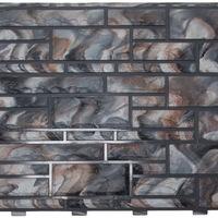 """Фасадная панель Доломит """"Эксклюзив"""" Гранит (2000х220мм)"""
