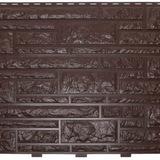 """Фасадная панель Доломит серии """"Доломит"""" Корица (2000х220мм)"""