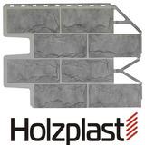 Фасадная панель Holzplast Wandstein Доломит Серый жемчуг (795х595мм)