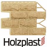 Фасадная панель Holzplast Wandstein Доломит Золотой песок (795х595мм)