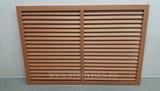 Решетка радиаторная ПВХ 900х600мм Дуб