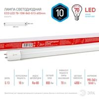 Светодиодная лампа (ECO LED) G13 Трубка Т8 600мм 10Вт 4000К Белый свет Эра ECO LED T8-10W-840-G13-600mm Матовая колба, Неповоротный цоколь