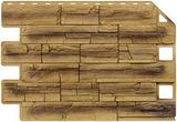 Фасадная панель Royal Stone Скалистый камень Эдмонтон арт. 315 (905х620мм)