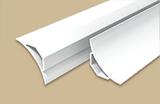 Галтель с мягкими краями ПВХ Идеал 25х25мм Белая (длина-2,5м)