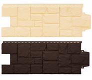 Фасадные панели Grand Line, серия Крупный камень Стандарт