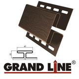 Н-профиль Grand Line Коричневый (длина-3м)