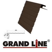 J-фаска Grand Line Коричневая (длина-3м)