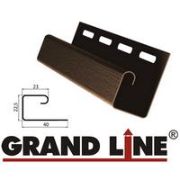 J-профиль Grand Line Коричневый (длина-3м)