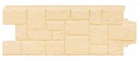 Фасадная панель Grand Line Крупный камень Стандарт Бежевый (982х383мм)