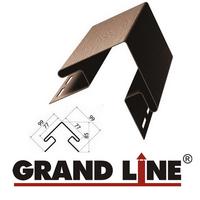 Наружный угол Grand Line Коричневый (длина-3м)