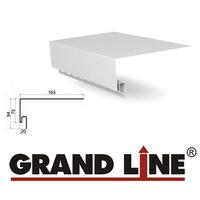 Околооконная планка Grand Line Белая (длина-3,05м)