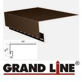 Околооконная планка Grand Line Коричневая (длина-3,05м)