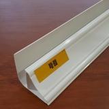 Плинтус потолочный ПВХ 3 метра Белый Глянцевый для панелей толщиной 7-8мм