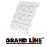 Софит Grand Line America T4 Белый полностью перфорированный (Размер:3х0,305м)