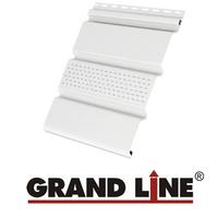 Софит Grand Line America T4 Белый с центральной перфорацией (Размер:3х0,305м)