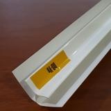 Внутренний угол ПВХ 3 метра Белый Глянцевый для панелей толщиной 7-8мм