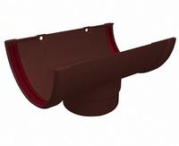 Воронка желоба ПВХ Grand Line (Гранд Лайн) Стандарт Шоколадная 120/87мм
