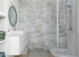 Панель ПВХ Vilo Motivo - Grey Marble / Мрамор серый 2,65х0,25м (матовая)