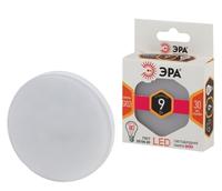 Светодиодная (LED) лампа GX53 Таблетка 9Вт 2700К Теплый свет Эра LED GX-9W-827-GX53