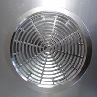 Решётка вентиляционная 300х300мм Caveen HQ-02R-NEW Металлик