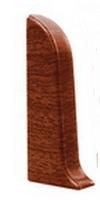 Заглушка левая 55мм Идеал Комфорт в цвет плинтуса (57цветов)