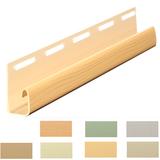 J-профиль Vox Цветной - 7 цветов под цвет сайдинга (длина-3,05м)