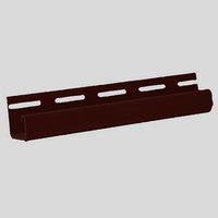J-профиль FineBer Коричневый для фасадных панелей (длина-3м)