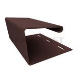 J-профиль Holzplast Темно-коричневый для цокольного сайдинга (длина-3м)